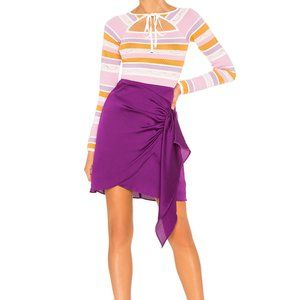 Keepsake the Label Infinity Skirt In Grape
